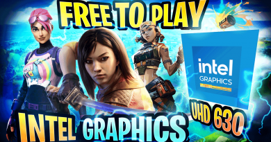 Intel Graphics UHD 630 running Free-To-Play Games on i9 10900K CPU