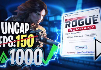 Rogue Company UNCAP Frame Limit FPS Change