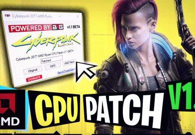 Cyberpunk 2077 AMD Ryzen CPU Patch Tool v1.1  Hex Edit   SMT